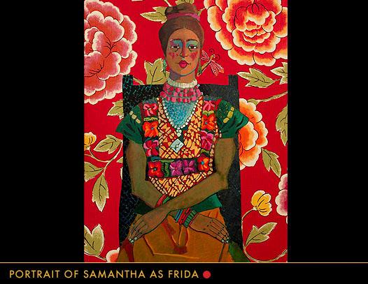 Portrait of Samantha as Frida