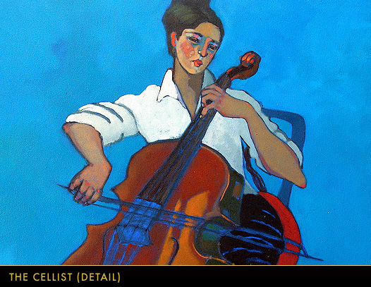 The Cellist (Detail)